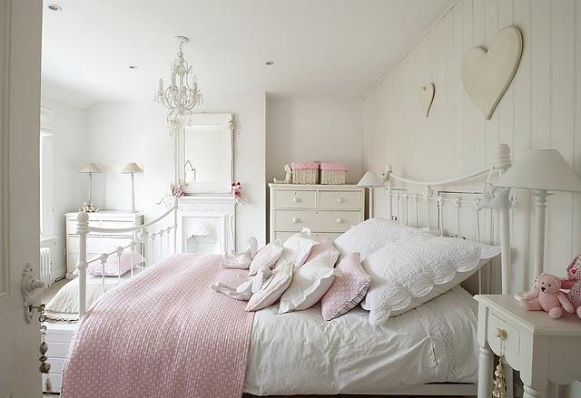 Decoração de quarto- Tom branco