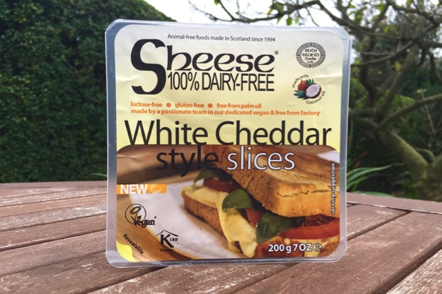 Sheese - White Cheddar Style Slices (new recipe)
