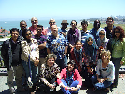 Skupinové foto účastníků, San Francisco