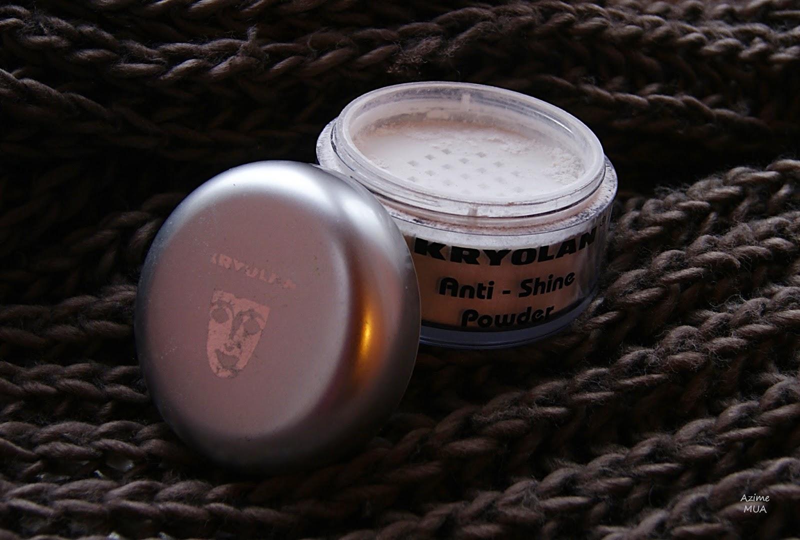 [186.] Niezawodny i trwale matujący puder- Kryolan Anti-Shine Powder