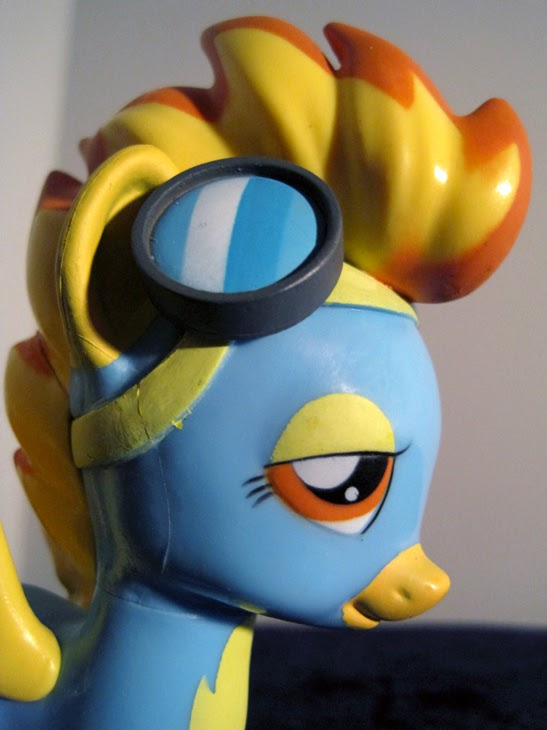 Funko Collectible My Little Pony: Friendship is Magic Spitfire figure.
