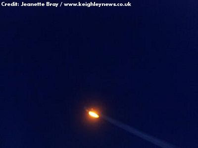 UFO Sighted Near Keighley 2-15-13