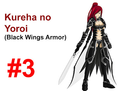 Black Wings Armor, Erza Scarlet