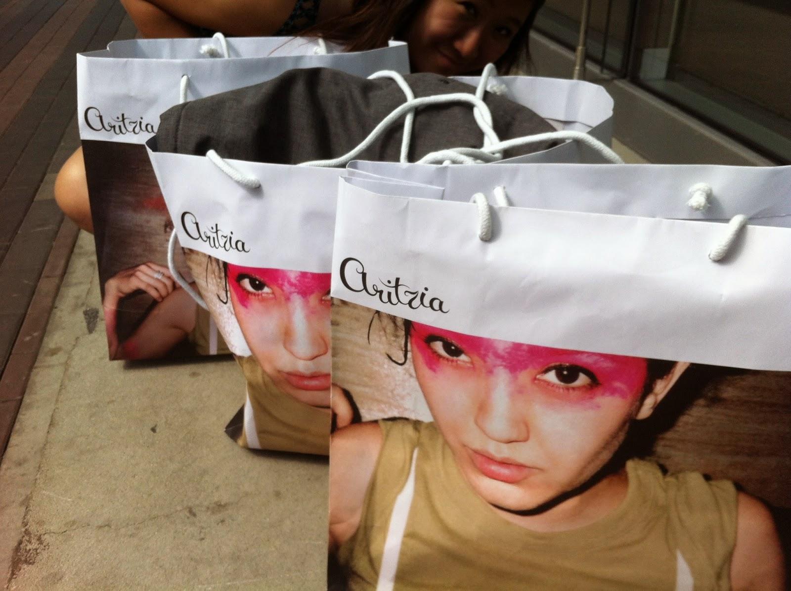 Aritzia Shopping Bag from Aritzia Warehouse Sale