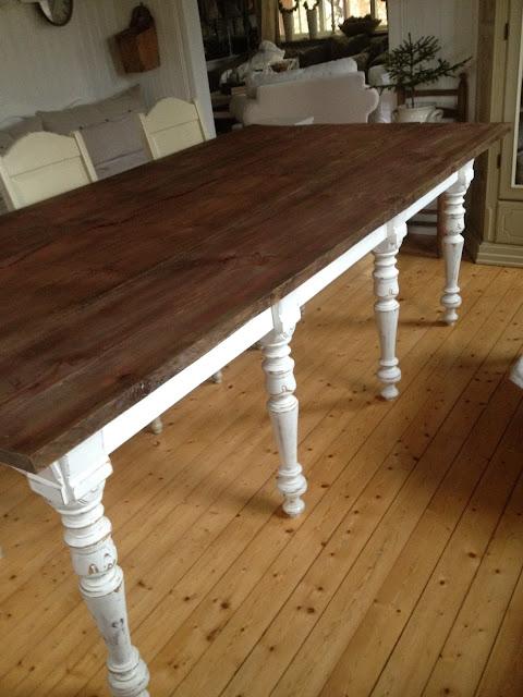 Kök bygga köksbord : Njut Av Livets Goda Ting: Ta vara pÃ¥ gammalt och bygga nytt.