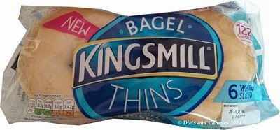 Kingsmill Bagel Thins white