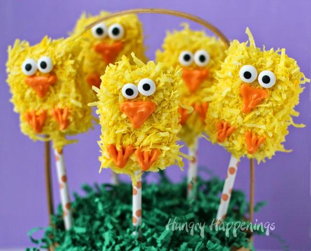 Easter Chicks Lollipops