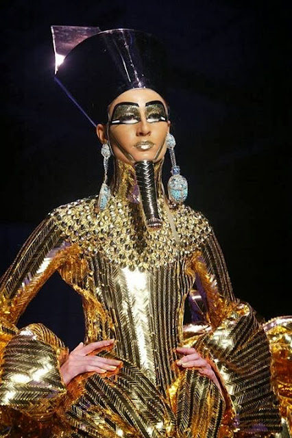 Egypt Fashion With Gold Shine