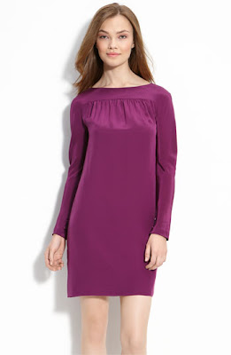 Trina Turk Crêpe de Chine Shift Dress