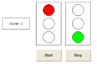 Simulasi Program Ladder PLC Wago Lampu Lintas