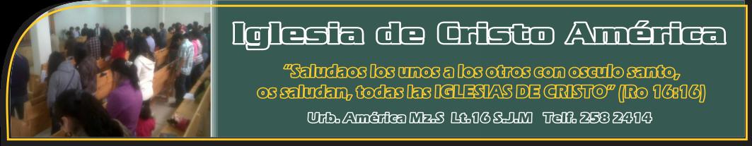 Iglesia de Cristo America