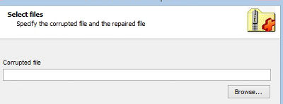 Como recuperar arquivos Zip corrompidos