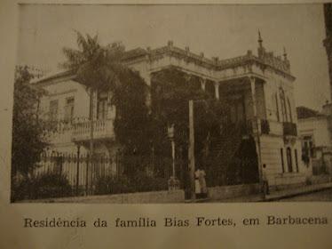 ANTIGO SOLAR DA FAMILIA BIAS FORTES.