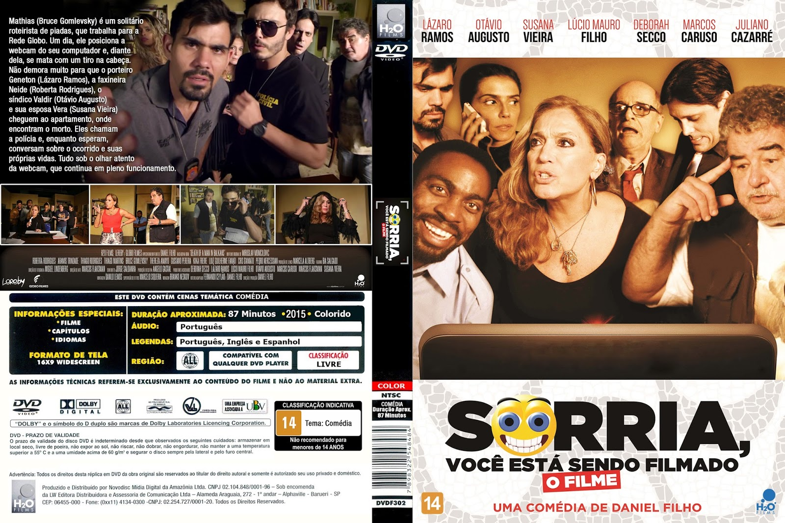 Sorria, Você Está Sendo Filmado O Filme DVDRip XviD Nacional 1