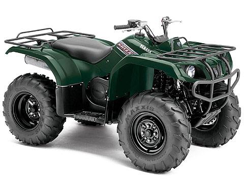2013 Yamaha Grizzly 350 Auto 4x4 ATV pictures. 480x360 pixels