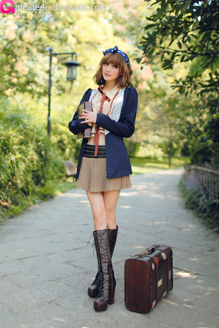 5 Tina - Travel-very cute asian girl-girlcute4u.blogspot.com