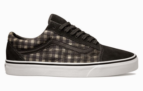 Vans Distressed Plaid Classics - Old Skool