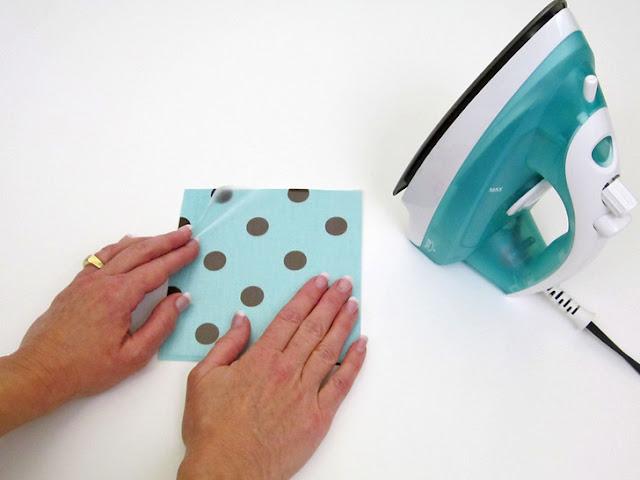 Impermeabilizando tecido com papel contact 01