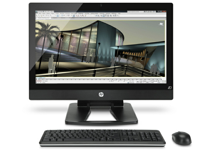 HP Z1 Workstation 'Power without the Tower'