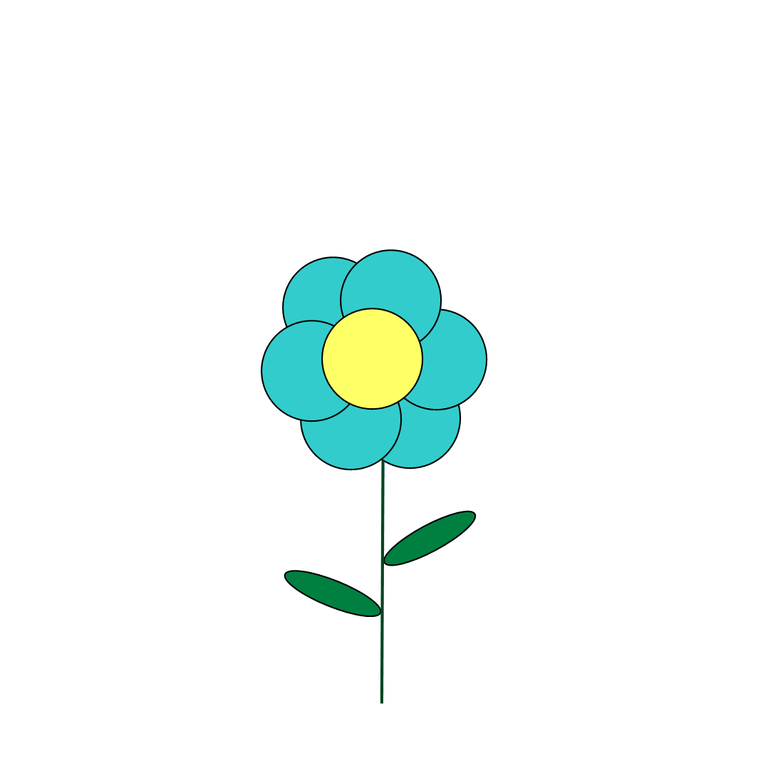 Free Clipart N Images: Free Blue Flower Clipart