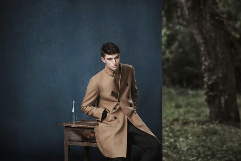 abrigo camel en nueva campaña de zara
