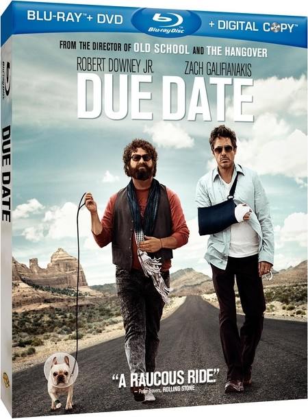 Due Date, starring Robert Downey Jr. (Sherlock Holmes: A Game of Shadows, ...