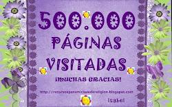 10 - 05 - 13: 500.000 PÁGINAS VISITADAS