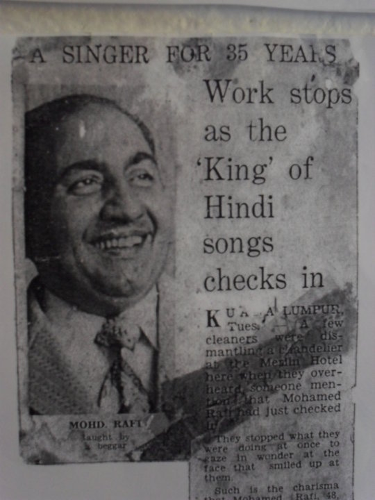 mohd rafi songs list may 2013