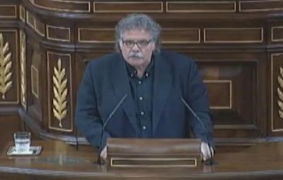 Joan Tardá en el Congreso de los Diputados