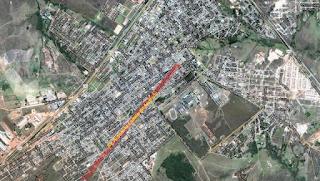 Avenida do Garimpeiro em Cristalina