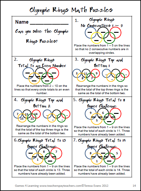 math worksheet : the math olympics  lessons  tes teach : Math Olympics Worksheets