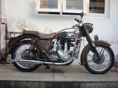 Modifikasi BSA 56 350cc - Gambar Modifikasi Motor Terbaru