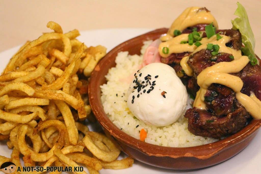 The Yamazaki Steak of Mad Mark's in Glorietta