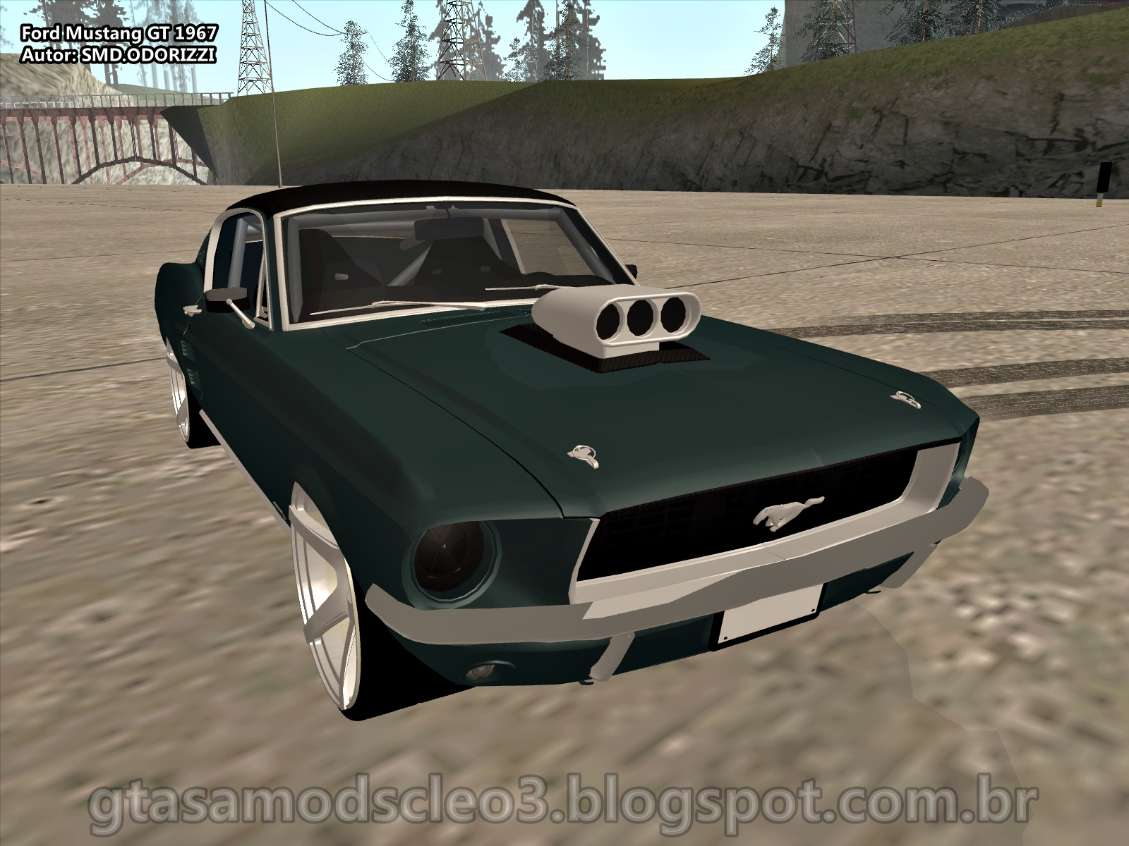 Ford mustang gt 1967 by smd odorizzi
