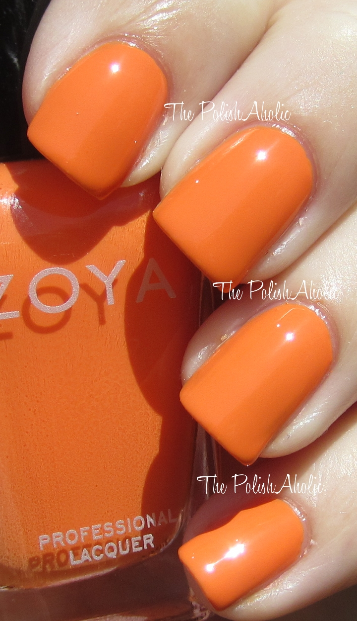 The PolishAholic: Zoya Summer 2012 Beach Collection Swatches