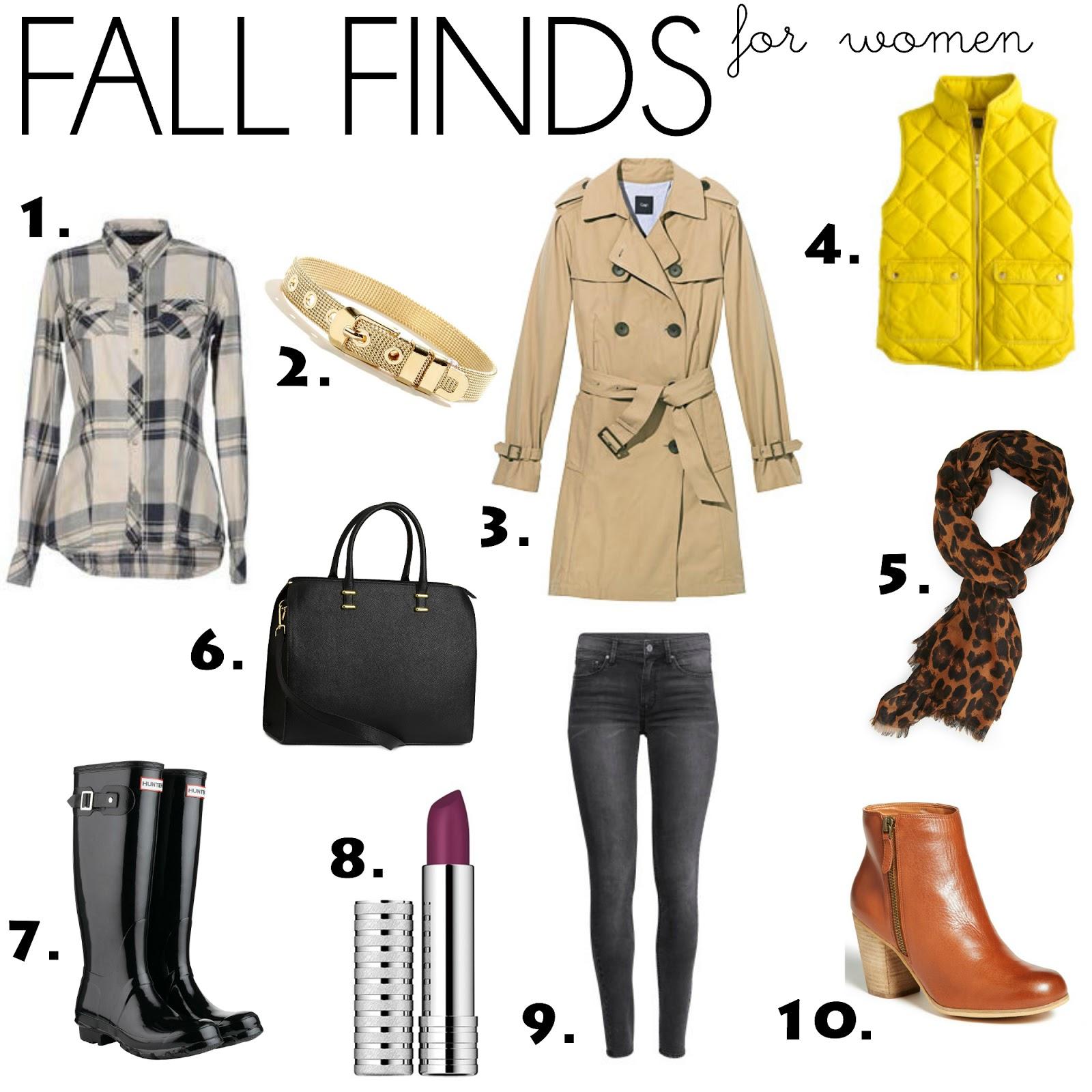 women's fall apparel