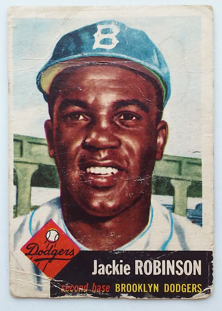 1953 Topps #1 Jackie Robinson and the First Topps Cartoon 1953 Topps #1 Jackie Robinson and the First Topps Cartoon 20160131 121648