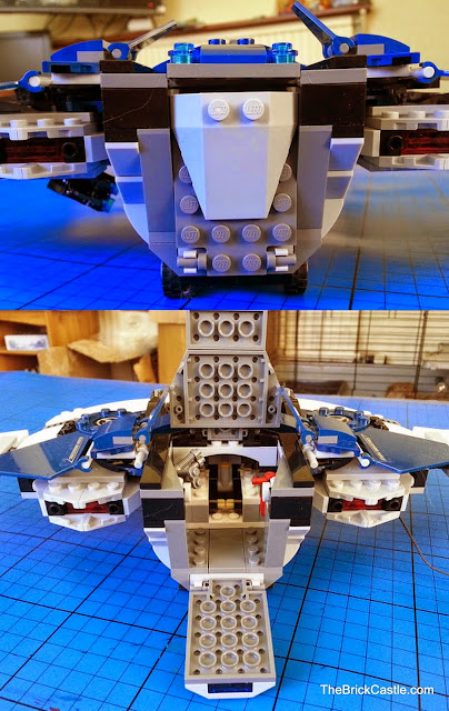 LEGO Avengers Quinjet 76032 rear opening hatch