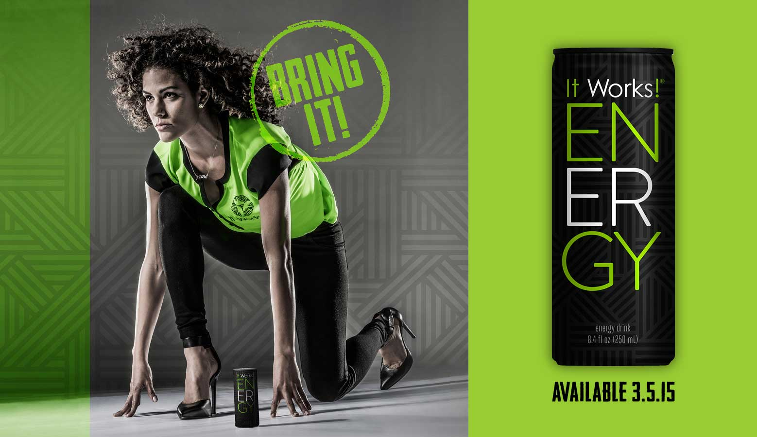 IT WORKS ENERGY DRINK