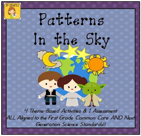 http://www.teacherspayteachers.com/Product/First-Grade-Theme-Patterns-in-the-Sky-1505856