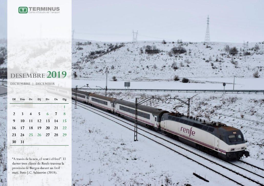 Calendari - Desembre del 2019