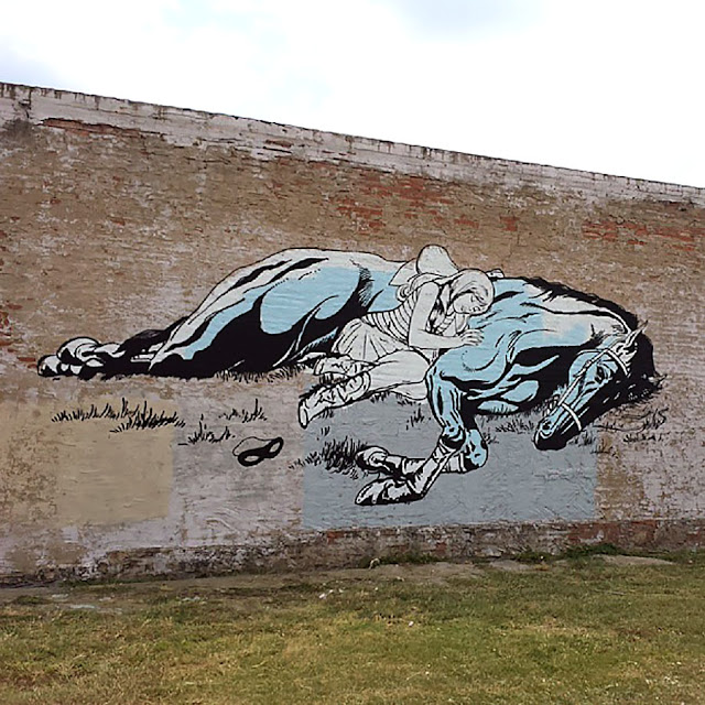 Street Art By American Duo Faile On The Streets Of Dallas, USA 1