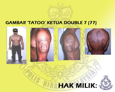 lambang tatu kumpulan haram, lambang tatu geng kongsi gelap, lambang tatu geng 08, geng 04, geng 08, lambang tatu, tatu kumpulan kongsi gelap malaysia