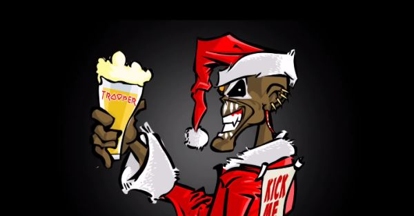 IRON MAIDEN: Χριστουγεννιάτικο animated video