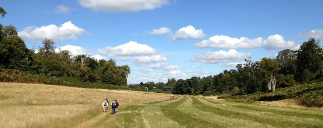 A valley in Knole Park, 22 September 2012