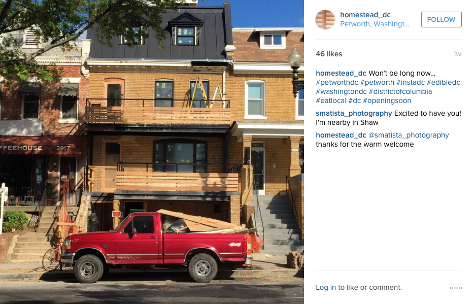 New Columbia Heights: More info on Homestead, the new bar ...