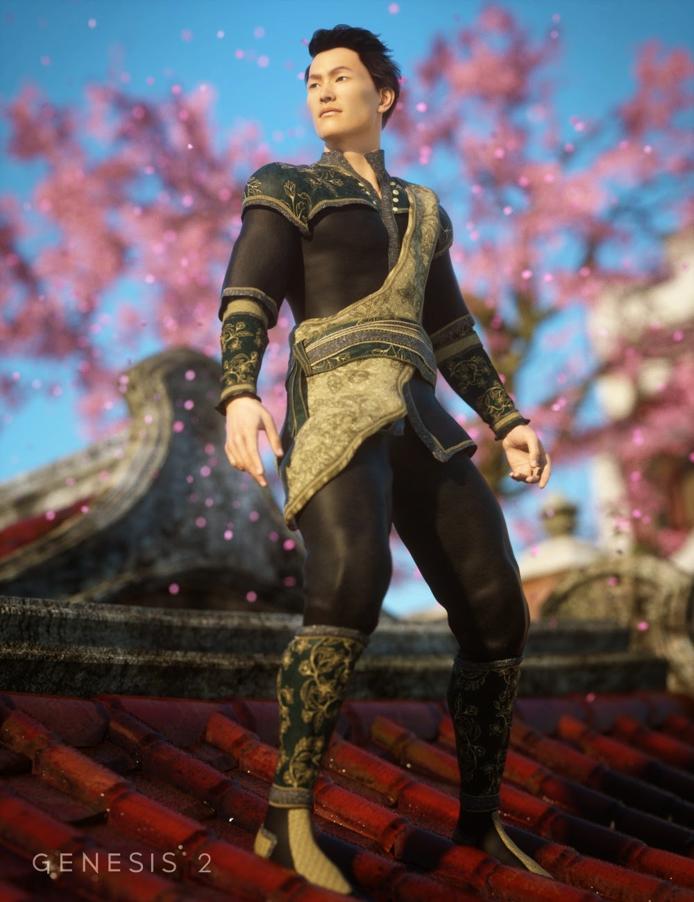 Genji Outfit Textures