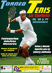 WEB Torneo Tenis Noviembre