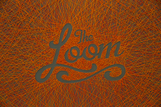 Dominique Falla's work, The Loom