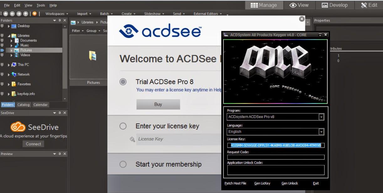 ACDSee Pro 9.2 Build 528 Full 32 Bit + 64 Bit - Phần mềm ...